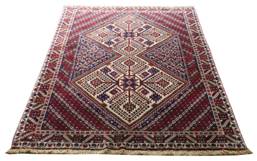 A great example of an Afshar rug from Oriental Rugs of Bath