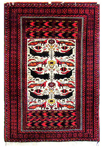 A Belouch Rug from Oriental Rugs of Bath